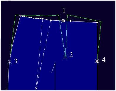 Optitex PDS: Các Lệnh Tạo Pen Và Xếp Ly 2