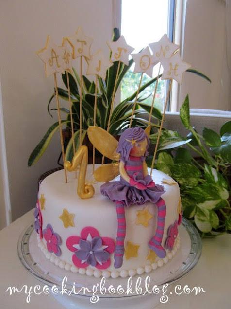 Торта с фея за Антигони
