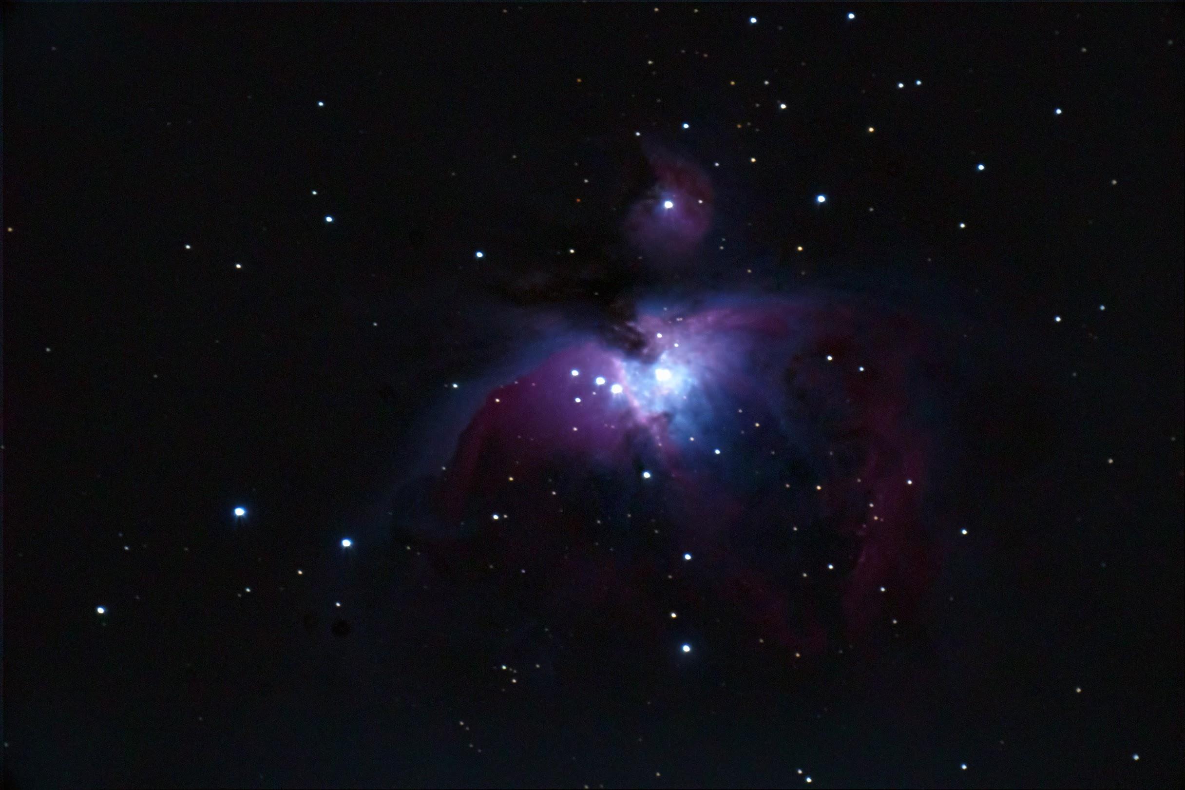 「M42オリオン大星雲」MAK127(1500mm)で撮る