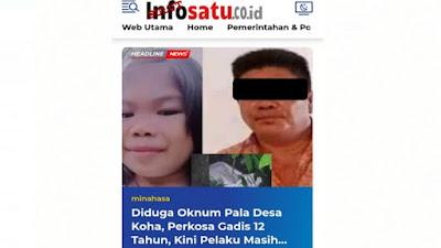 Video Pencarian Gadis 12 Tahun Marsela Sulu, Diduga Diperkosa Oknum Kepala Lingkungan Desa Koha, Ditemukan Warga di Dalam Karung