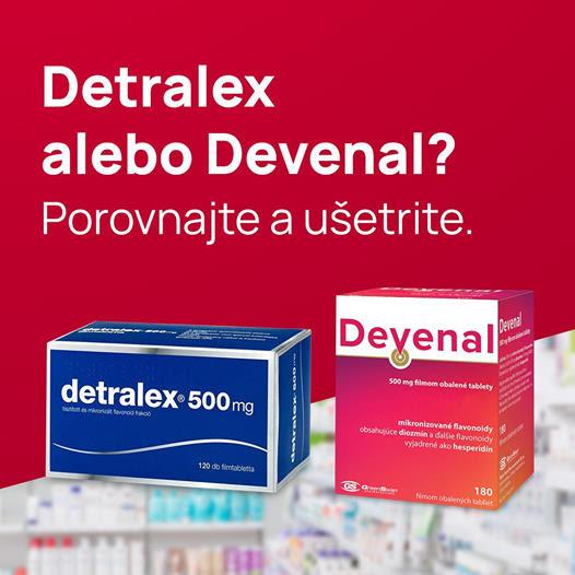 Devenal verzus Detralex
