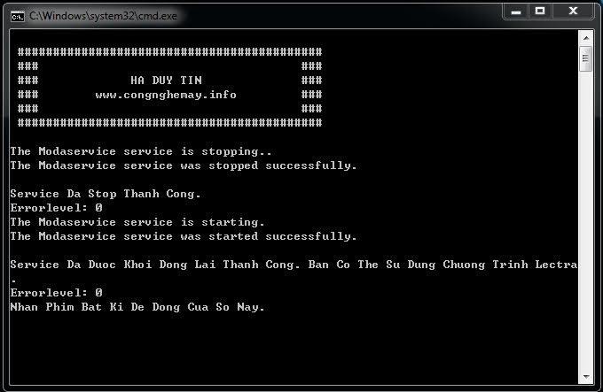 Tổng Hợp Cách Sửa Lỗi Cannot Connect To Modaris Server 2