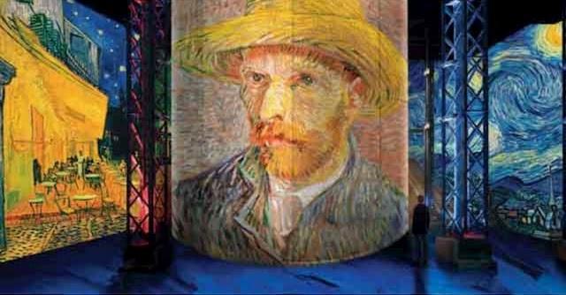 エミリー、パリへ行く ゴッホの絵に入る L'ATELIER DES LUMIÈRES