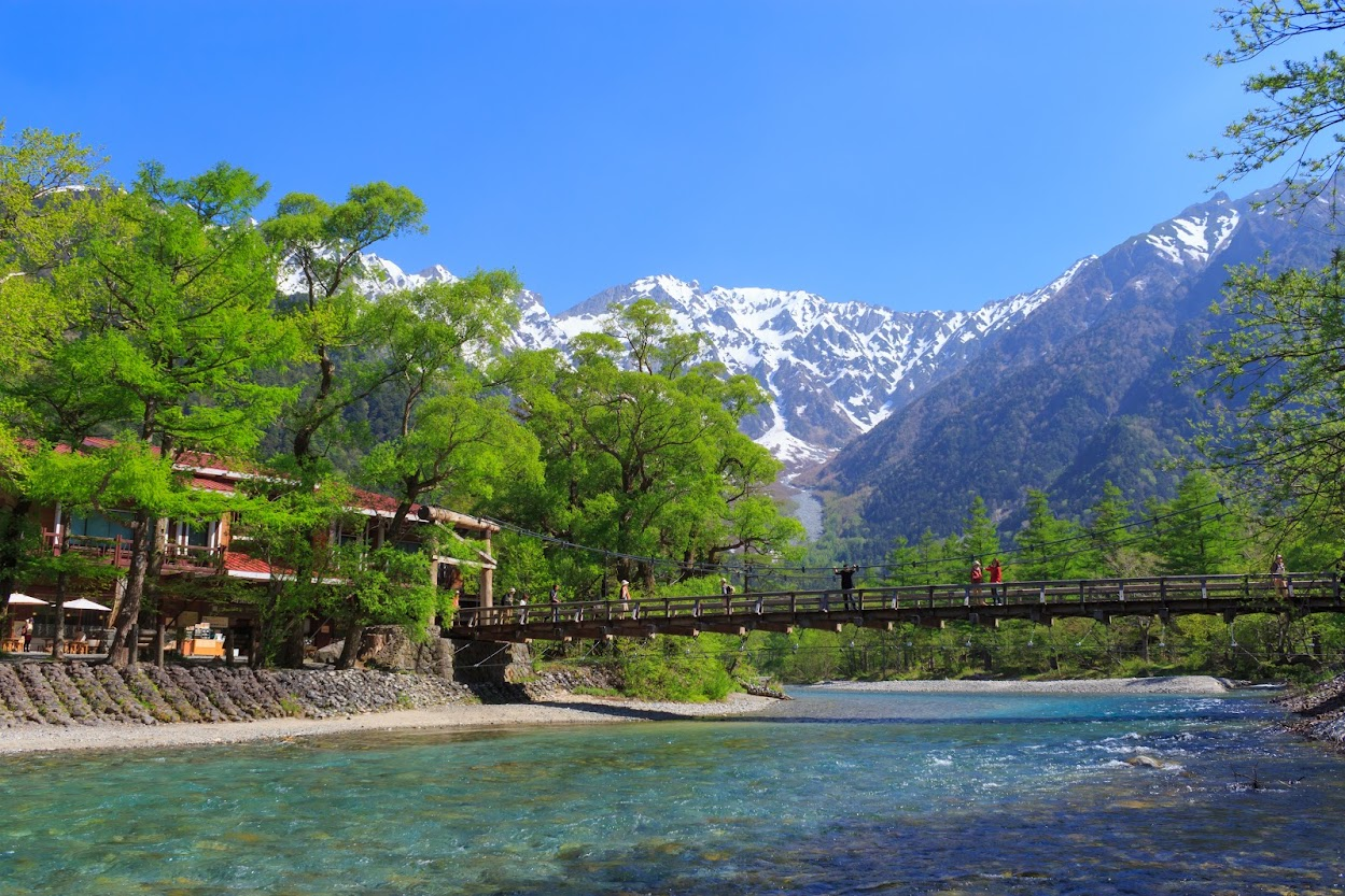 que ver y hacer en los Alpes Japoneses