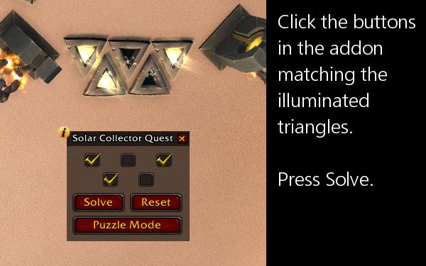 SolarCollector Quest Mode input.