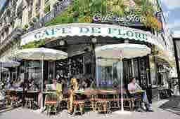 エミリー、パリへ行く Réunion Thomas Café de Flore