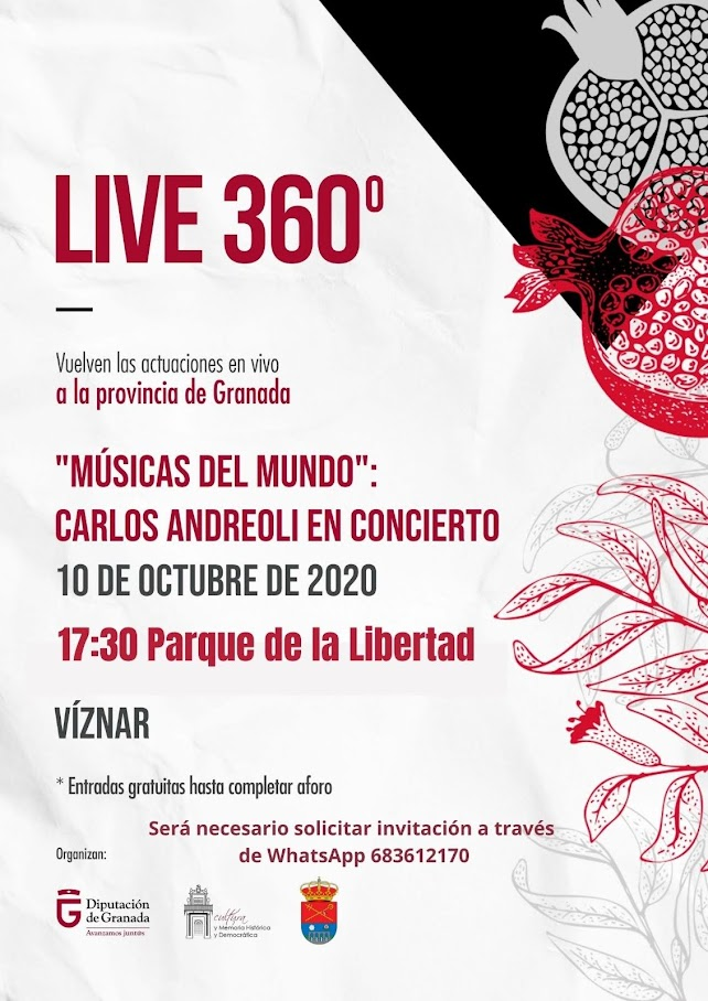 Concierto 360 Viznar 2020