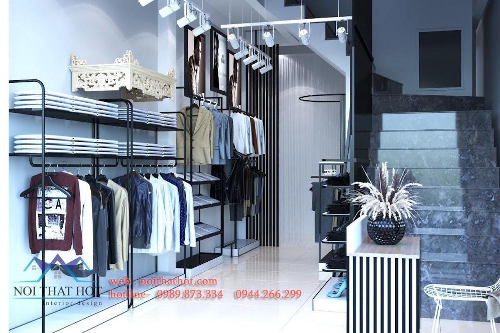 Giá kệ trưng bày quần áo