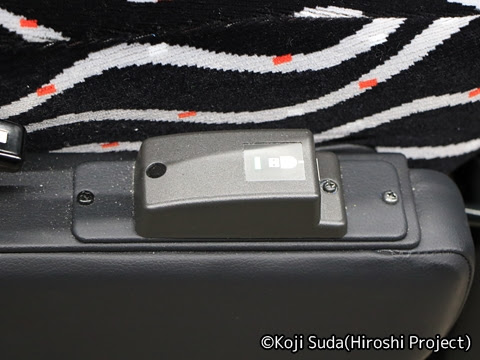 JRバス関東「グラン昼特急8号」 ・・12 USBポート