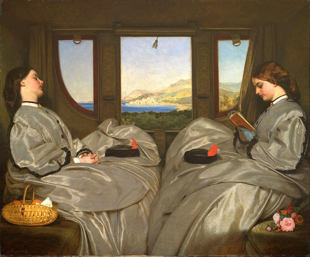 Augustus_Leopold_Egg_-_The_Travelling_Companions used for an article on travel writing.jpg