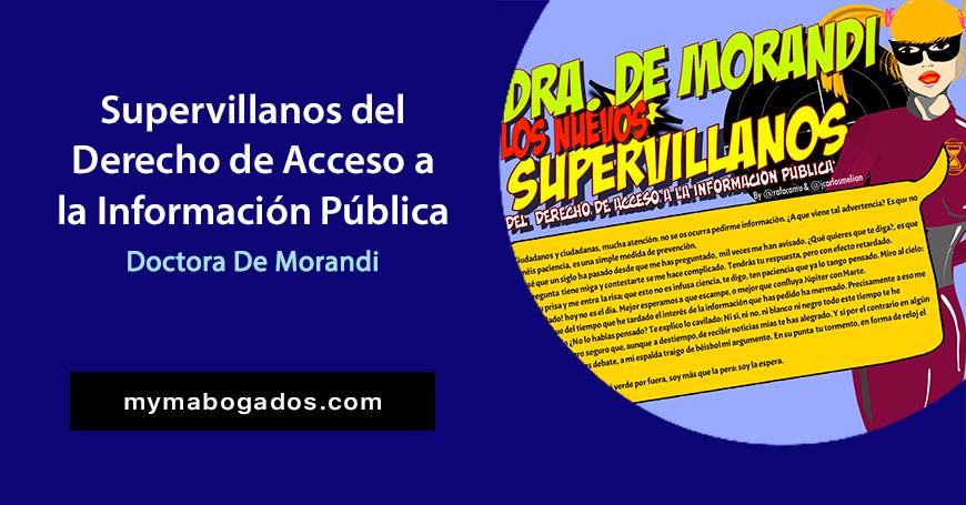La Dra. De Morandi. Demora plazo de resolución | Melián Abogados