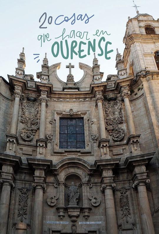 que ver y hacer en Ourense