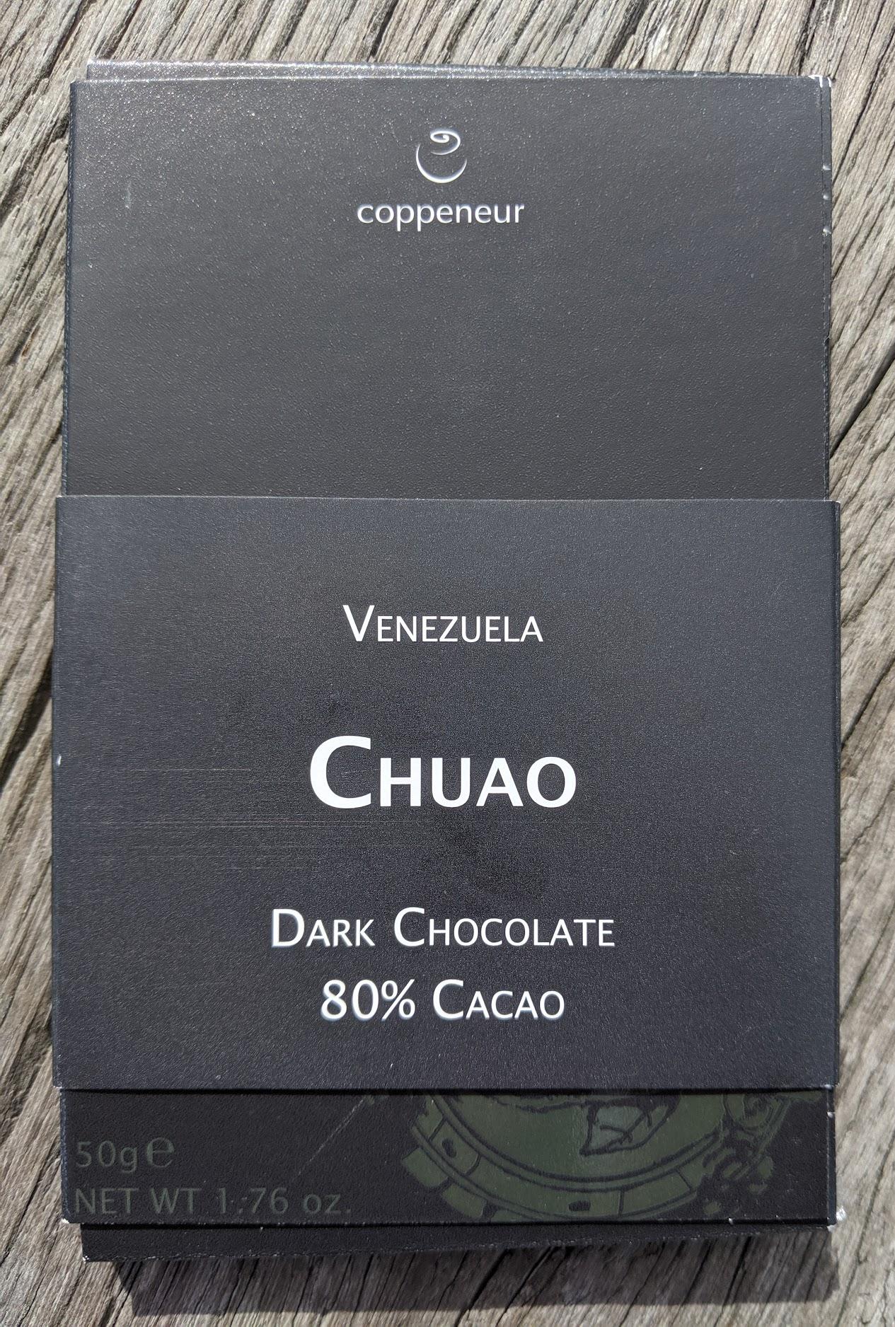 80% coppeneur venezuale bar