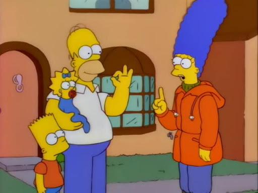 Los Simpsons 8x05 Bart de noche