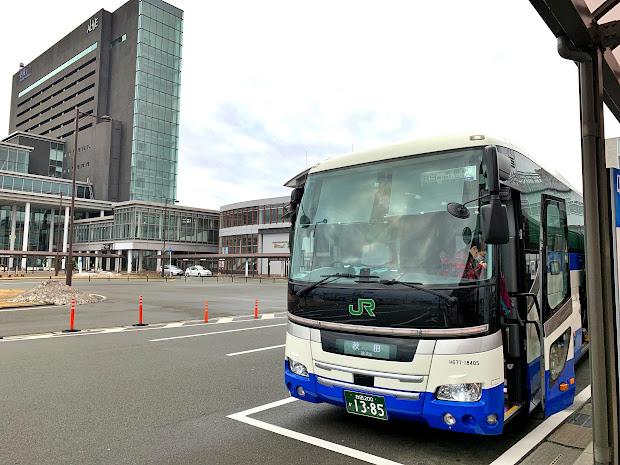 ドリーム秋田・東京号に乗ってきました(東京発秋田行夜行バス)