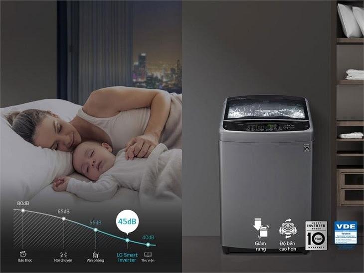 Dòng máy giặt LG có Smart Inverter