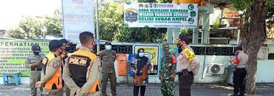 Kota pahlawan surabaya jawa timur indonesia