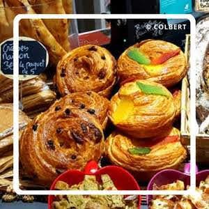 パリのパンオショコラ Pâtisserie Colbert - Natasha and Yohann パティスリー・コルベール・ナターシャ・アンド・ヨハン