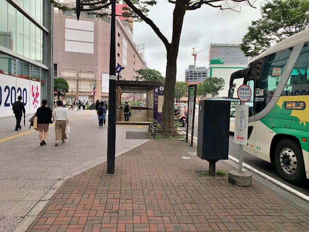 仙台駅前バスおりば