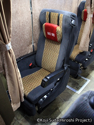 南海バス「サザンクロス」長岡・三条線 ・518 シート