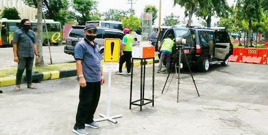 DLH Ngawi pantau kualitas udara Ambien dengan grab Sampler