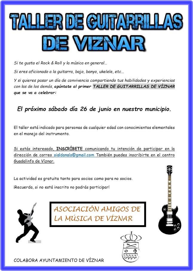 Taller guitarras Viznar 2021