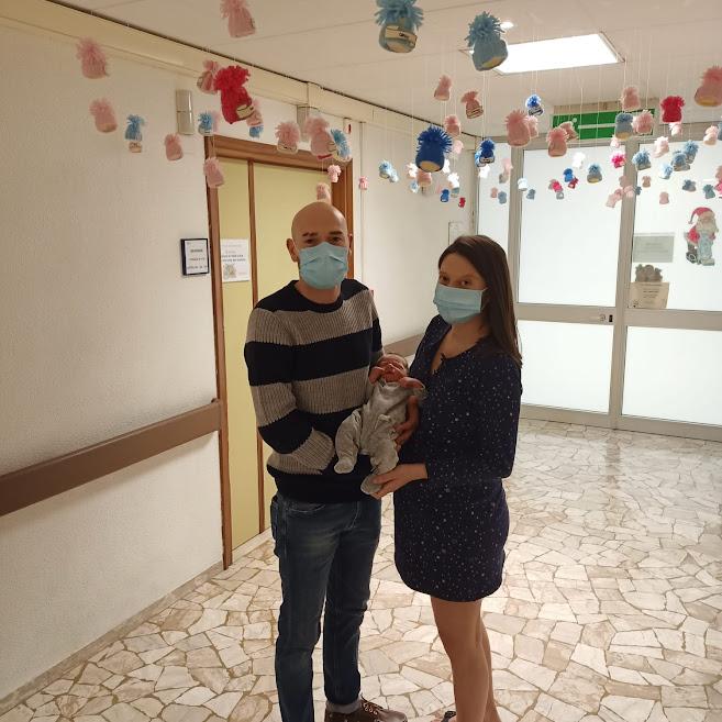 Sebastiano ultimo nato  Ospedale Belluno 2020