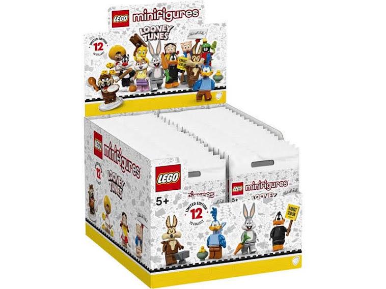 Contenido real de LEGO 71030 Sobre Sopresa Looney Tunes, Caja Completa