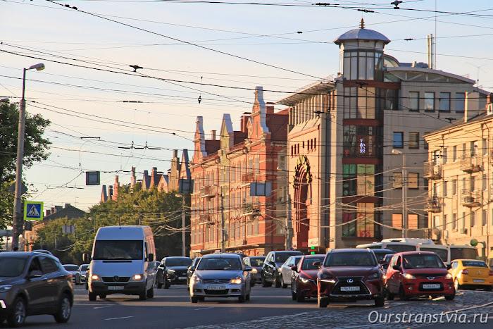 Ленинский проспект Калининграда