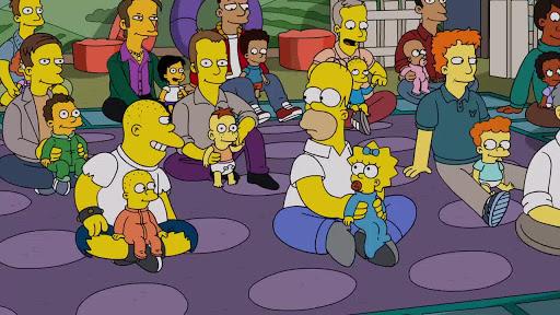 Los Simpsons 30x20 Solo Soy Una Chica Que No Puede Decir D'oh