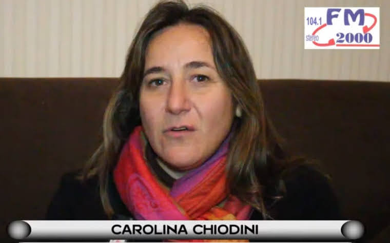 NOTA COLOR: CAROLINA CHIODINI, ELEGIDA EN EL MUNDO