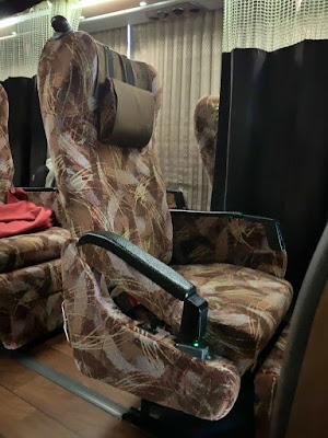 5B席とセパレートカーテン