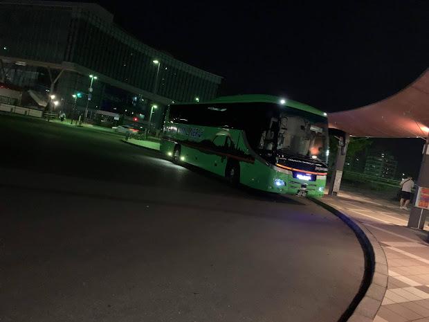 JAMJAMライナー JX932便(青森始発盛岡経由東京行夜行バス)