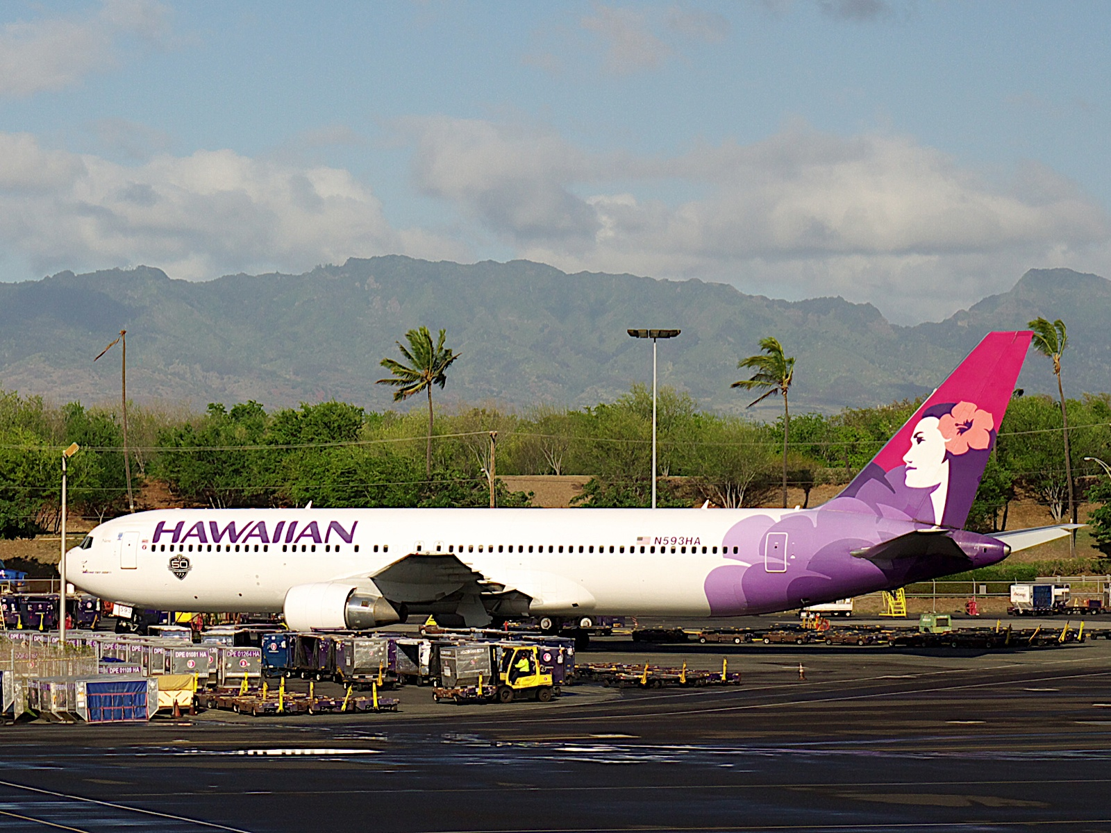 ミチヨの海外旅行 ハワイ島へ出発
