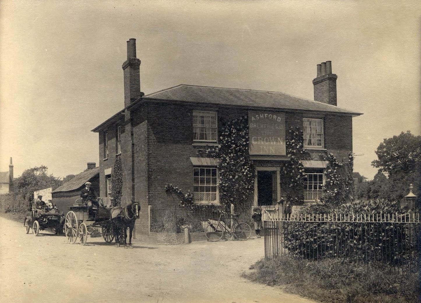 The Crown Inn, St Michaels, 1905