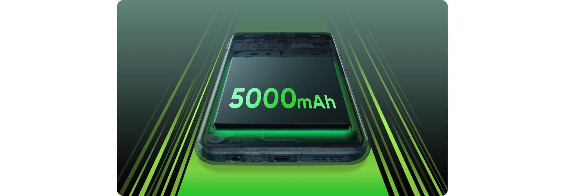 realme c17 5000mah battery