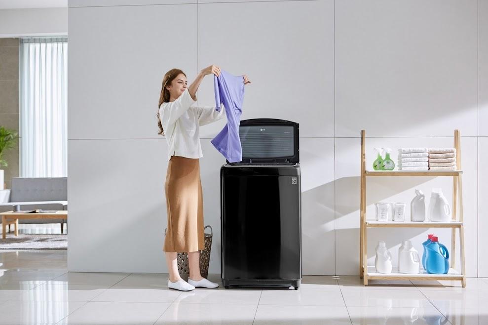 những tính năng có trên máy giặt lồng đứng LG