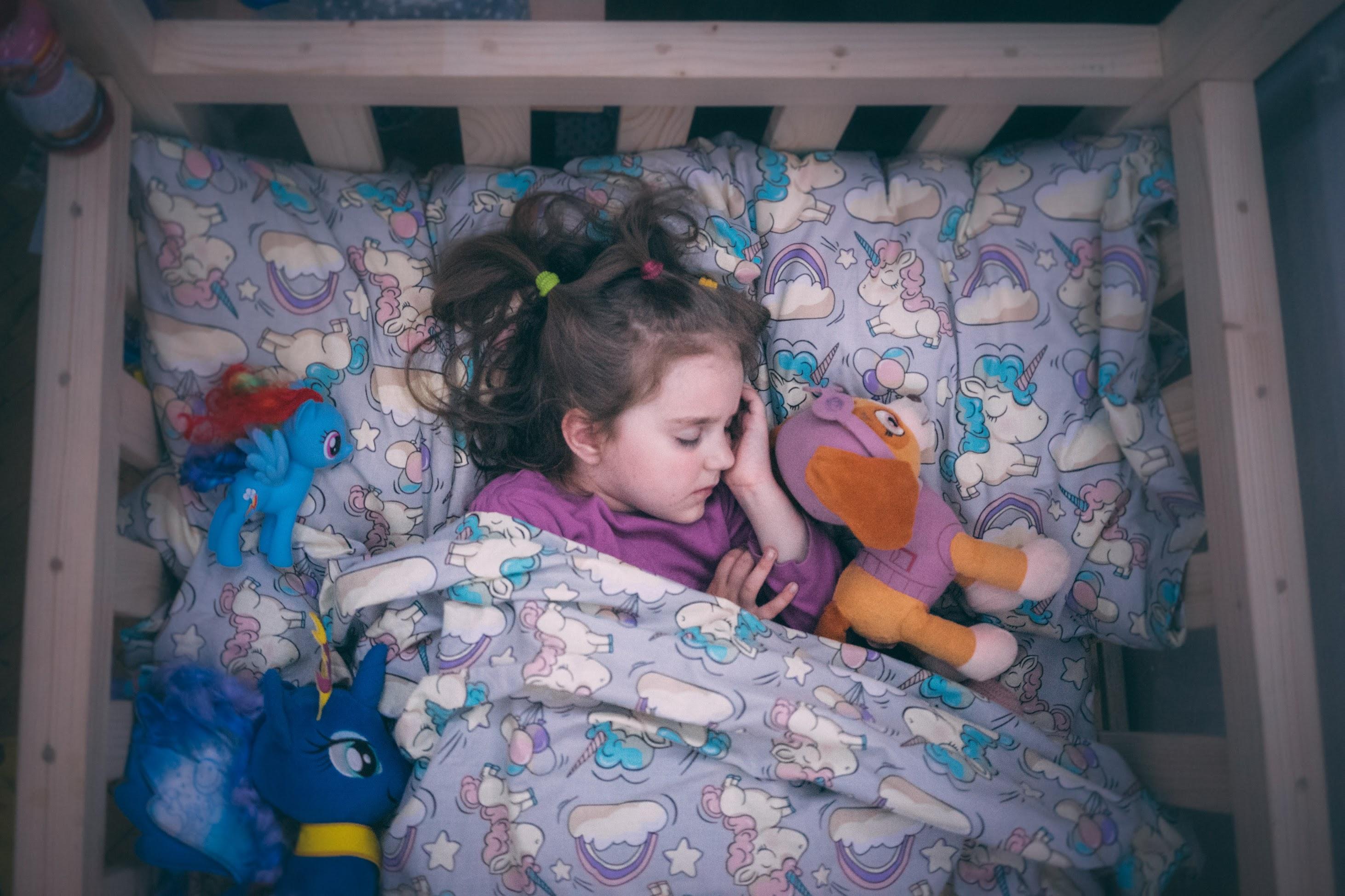 Дитяче ліжко-будиночок