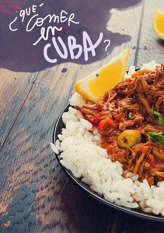 platos tipicos de Cuba