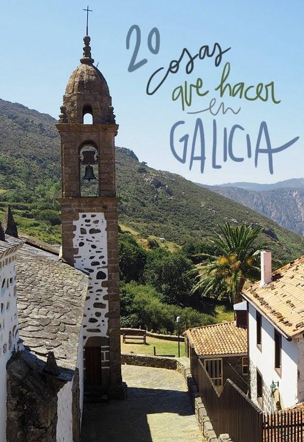 que ver y hacer en Galicia