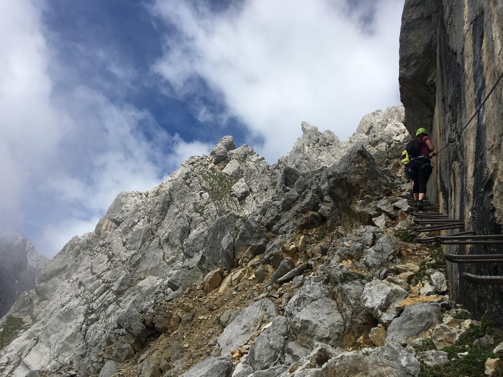 Ellmauer Halt hike  - July 20