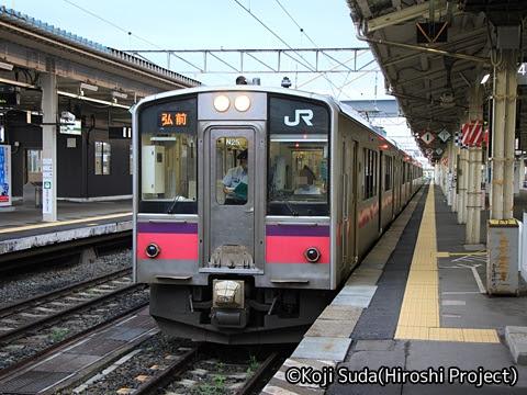 JR東日本 奥羽本線 701系 青森にて