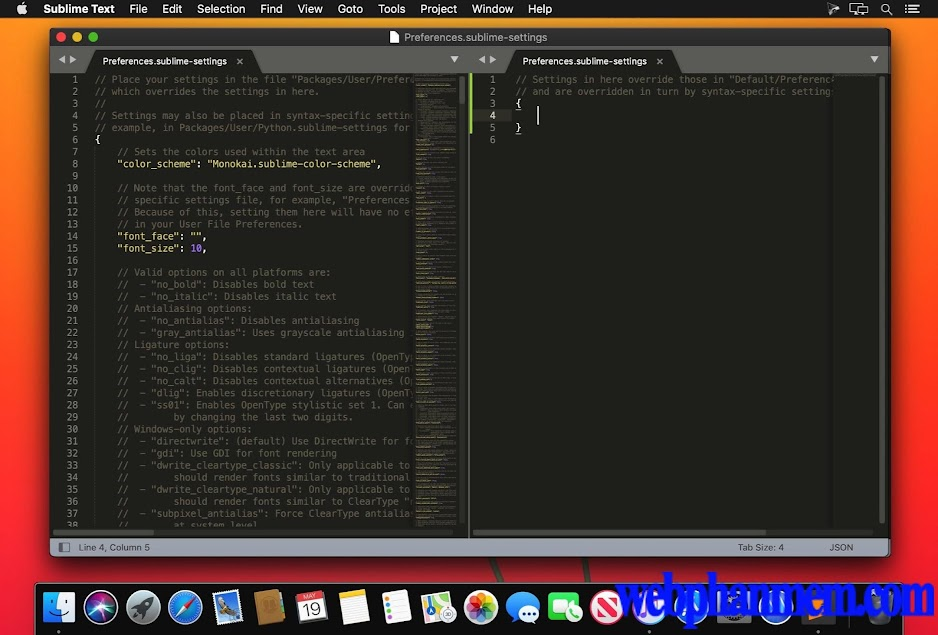 Sublime Text for mac Free download