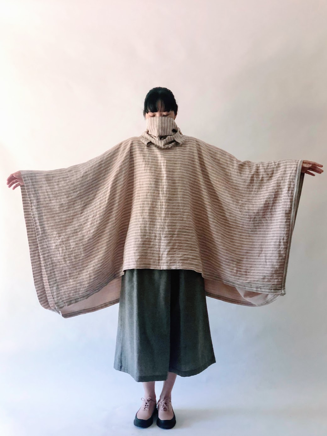 Wearing Handkerchief Dress as Poncho - FAFAFOOM.COM