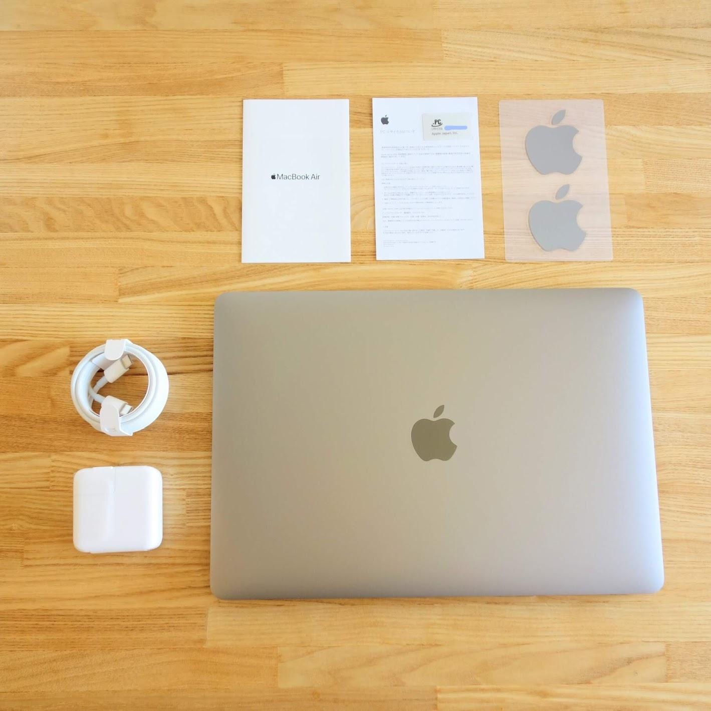 MacBook Air同梱物