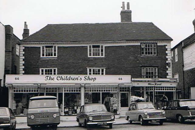 Tenterden Archive High Street Shops