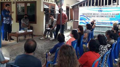 Reses DPRD Sulut, Victor Mailangkay Serap Aspirasi Warga Sario