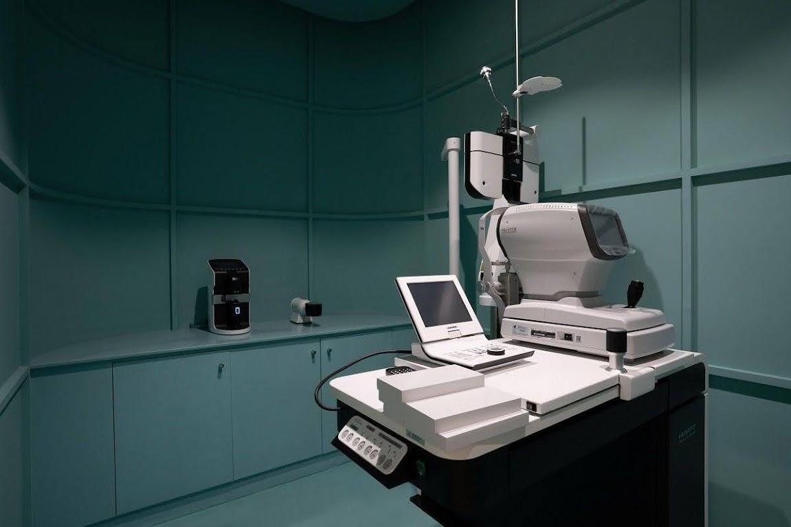 phòng kiểm tra mắt