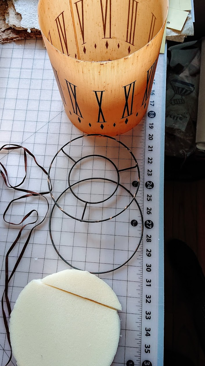 Repurposing vintage lamp shade as a planter - Reimagine   FAFAFOOM STUDIO
