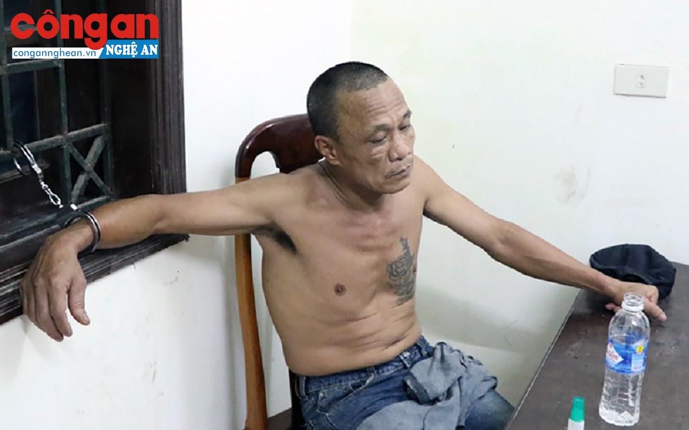 Đối tượng Nguyễn Doãn Vạn tại cơ quan điều tra